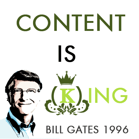 Contenido web: Content is king