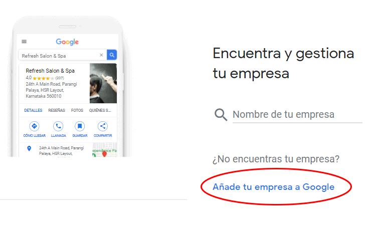 Encuentra y gestiona tu empresa en Google My Business