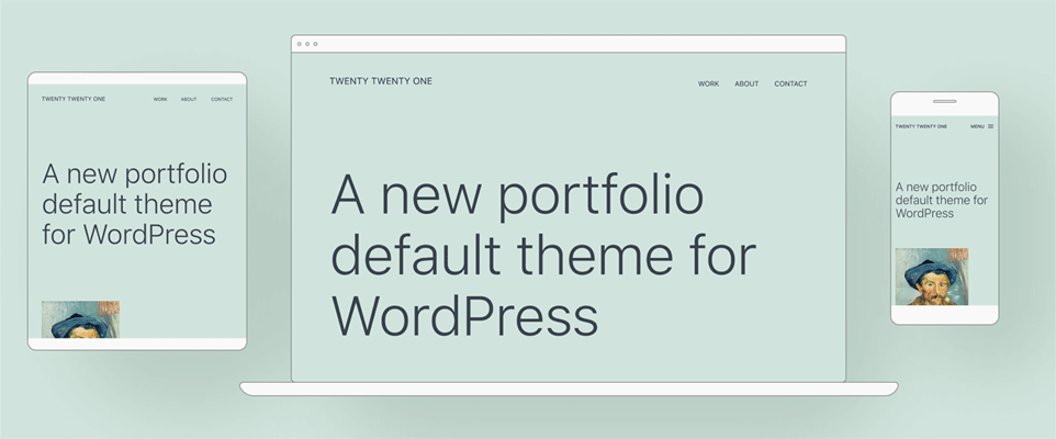 Twenty twentyone wordpress 5.6.