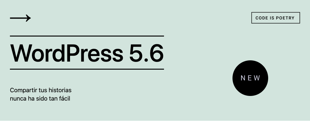 WordPress 5.6. - Simone