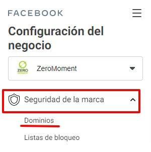 Business Manager de Facebook: seguridad de la marca