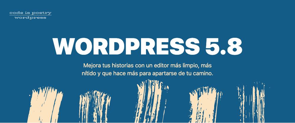 WordPress 5.8. full site editing